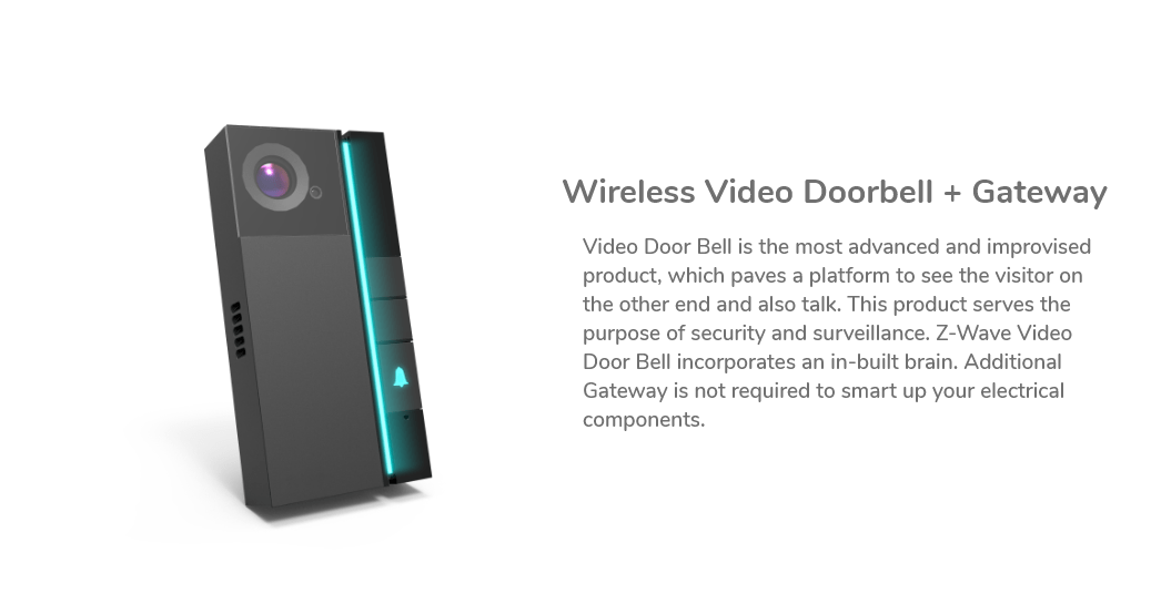 Best wireless video doorbell with z-wave technology India